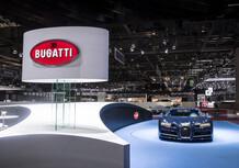 Bugatti, miglior stand del Salone di Ginevra 2017 [Video]