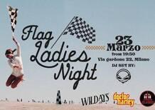 Flag ladies night giovedì da Ciapa la moto