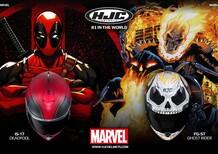 Deadpool e Ghost Rider by HJC