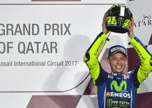 MotoGP 2017. Rossi: E' stata dura, sono contento