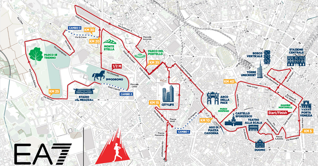 Maratona di Milano 2017: gli orari e le chiusure al traffico