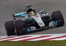 F1, Gp Cina 2017: pole per Hamilton. Secondo Vettel