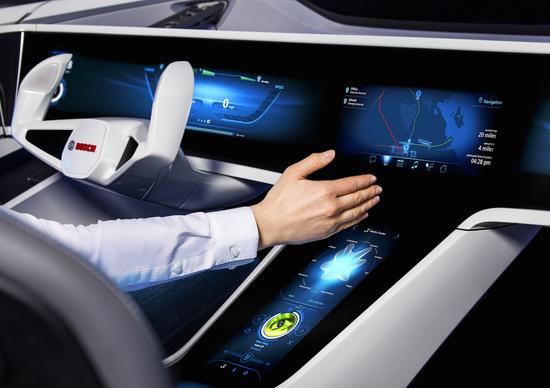 I vantaggi dell'auto connessa secondo Bosch