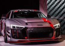 Audi R8, 2017: nuova versione GT4 LMS