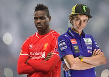 Valentino Rossi contro Mario Balotelli. E' sfida aperta sui social
