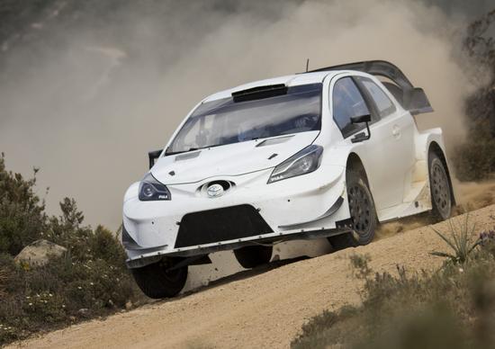 WRC17. Esapekka Lappi sulla terza Toyota