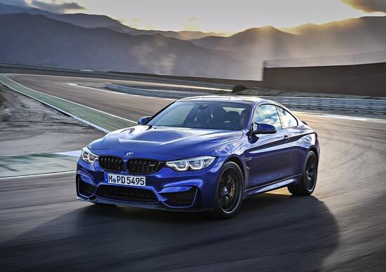 BMW M4 CS, la M4 è un po' più cattiva