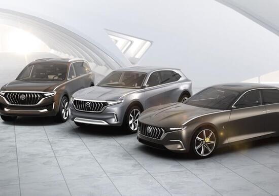 Pininfarina, presentate a Shanghai le concept K550 e K750