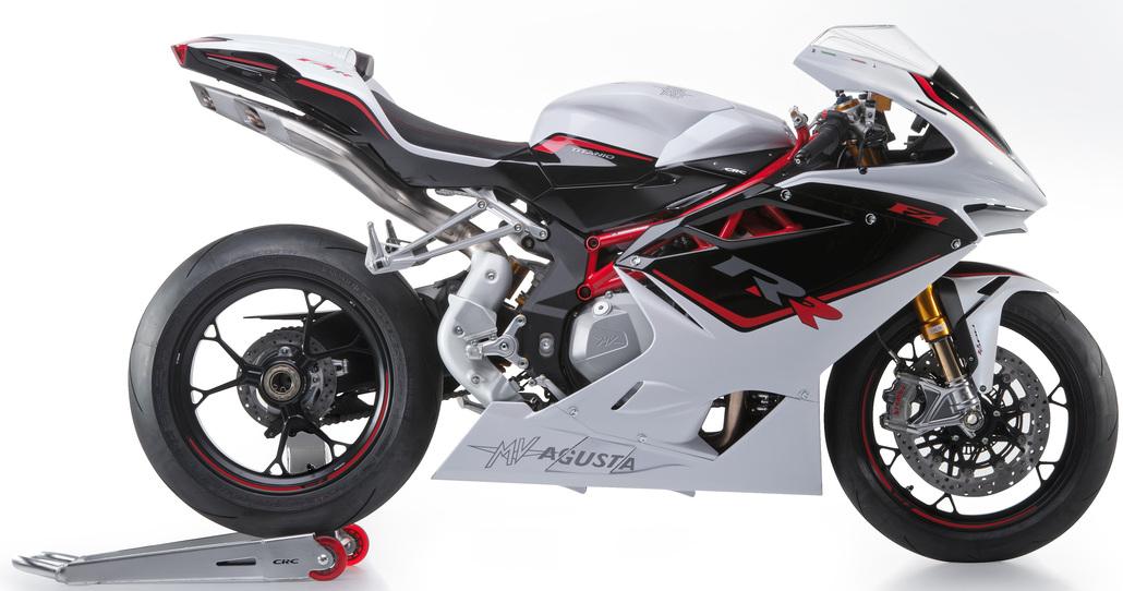 MV Agusta F4 e F4 RR 2015, scarico racing compreso