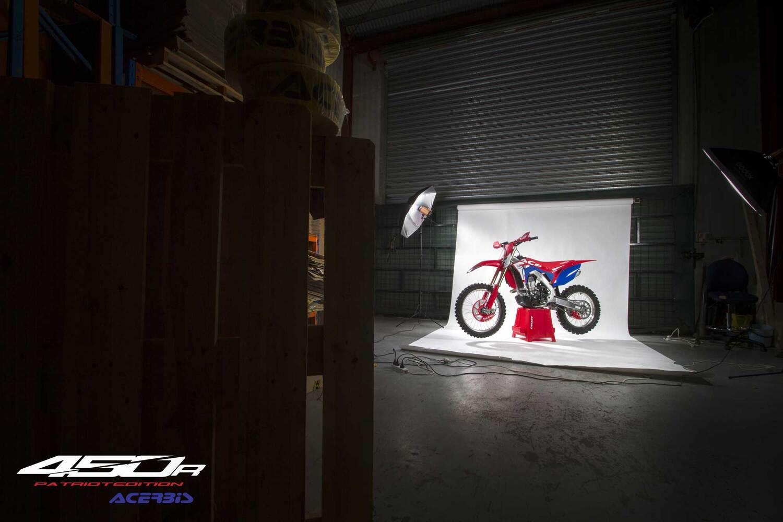 Acerbis: full kit e plastic kit Patriot per Honda CRF450R