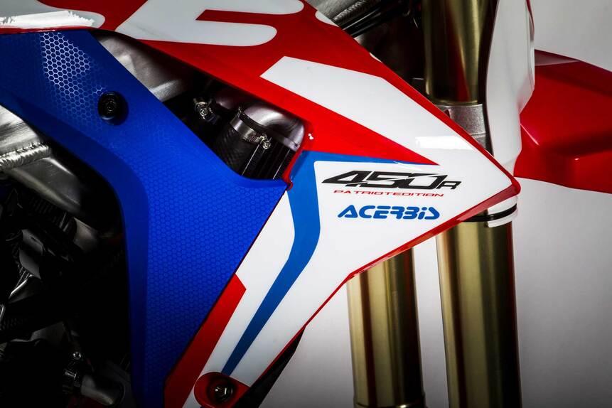 Acerbis: full kit e plastic kit Patriot per Honda CRF450R (5)