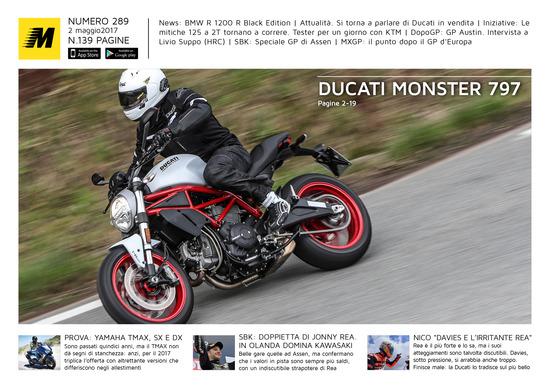 Magazine n°289, scarica e leggi il meglio di Moto.it
