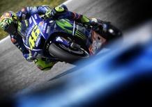 MotoGP 2017. Rossi: Sembrava che si stesse rompendo tutto