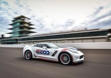 """Corvette Grand Sport """"pace car"""" per la 500 Miglia di Indianapolis 2017"""